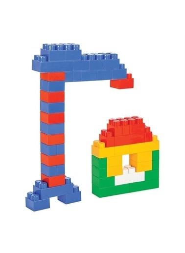 Pilsan Pilsan Master Bloklar 52 Parça Eğitici Lego Çocuk Oyuncağı Yapboz Renkli